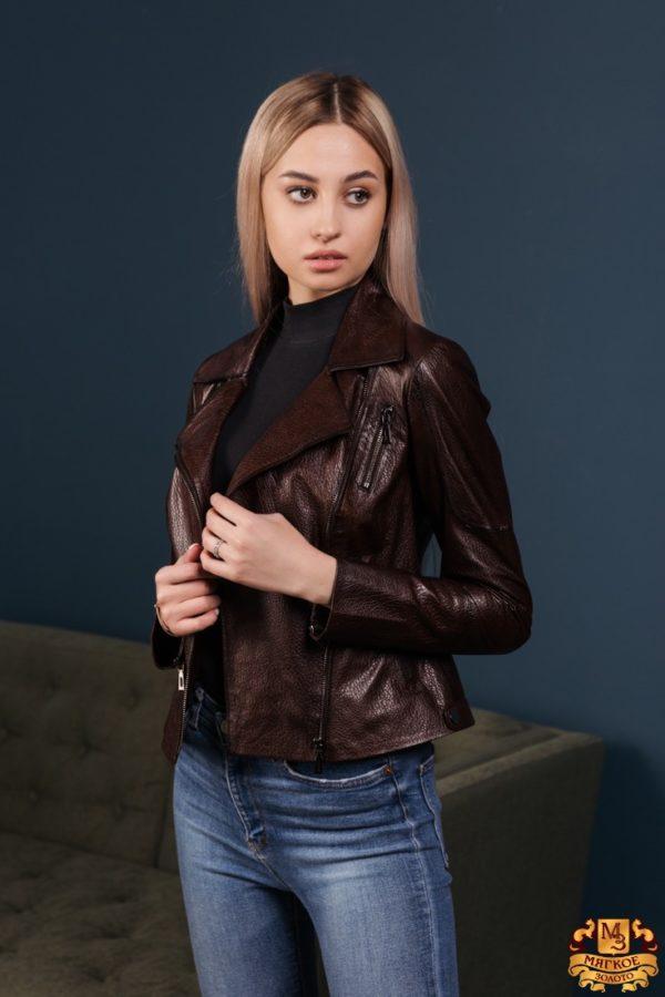 Куртка женская кожаная Dio Gomez 15386
