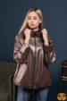 Куртка женская кожаная OKSA Z2148