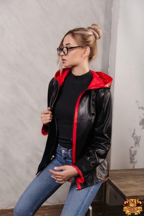 Куртка женская кожаная PASADO P-2167