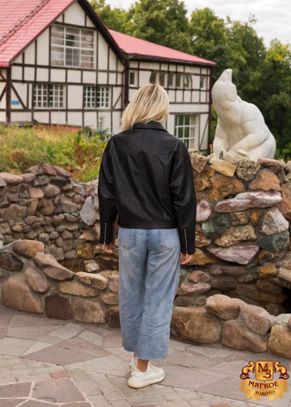 Куртка женская из эко-кожи1899