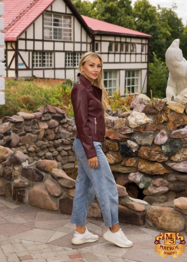 Куртка женская из эко-кожи 2096