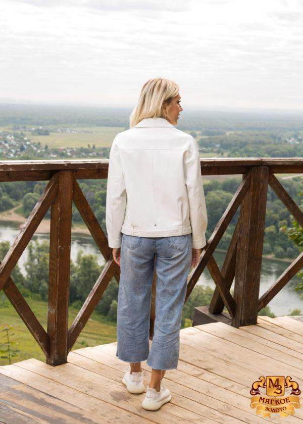 Куртка из эко-меха женская 2095