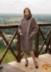 Шуба из меха овчины керли SOFIA 2006