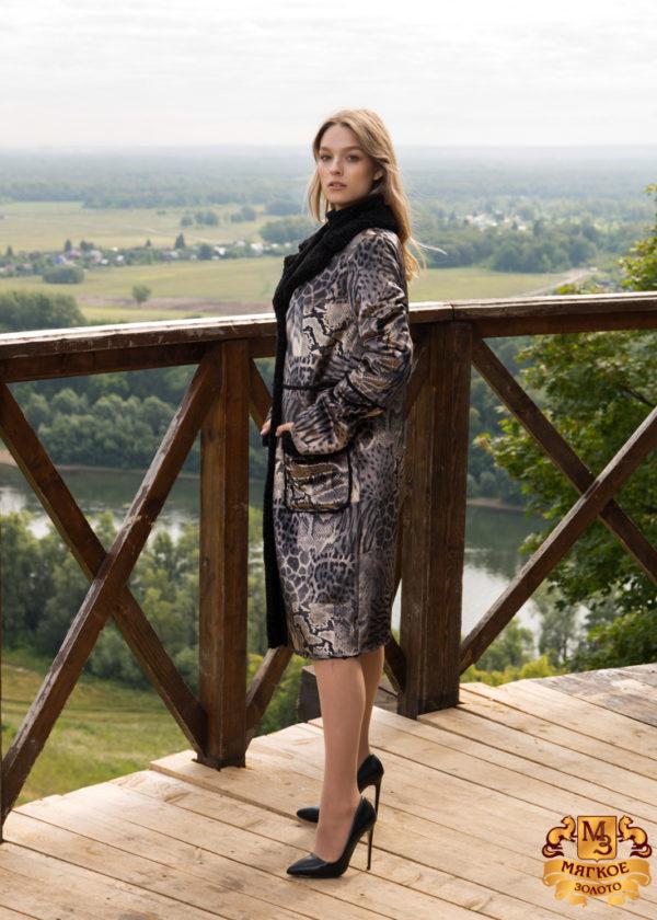 Пальто женское из искусственного меха Simakhov SM2127