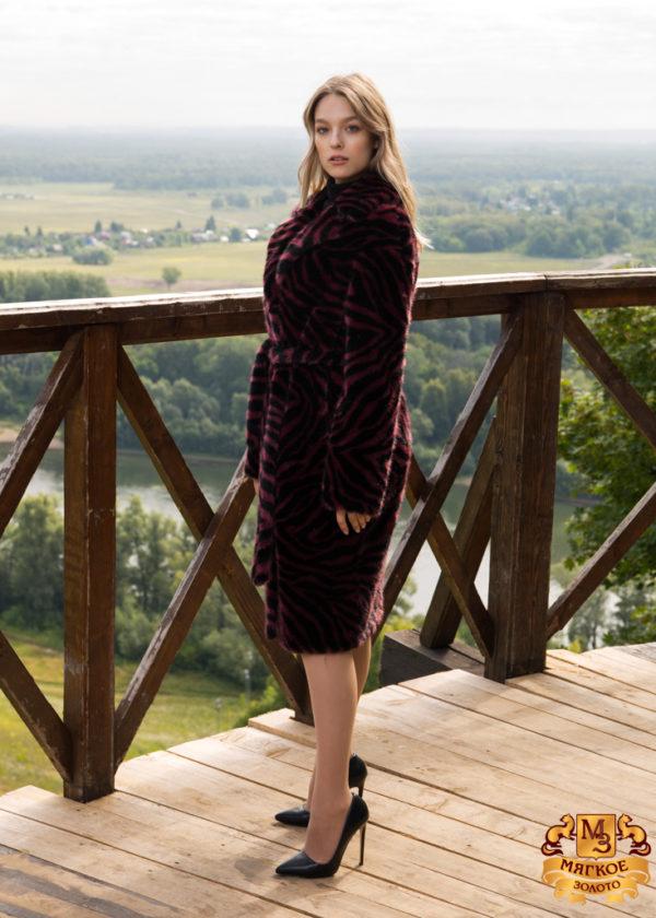 Пальто из искусственного меха Simakhov SM2160