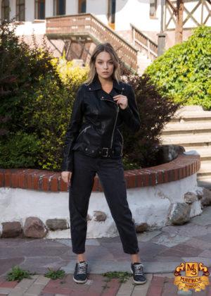Кожаная женская куртка Tony Grazza 4767