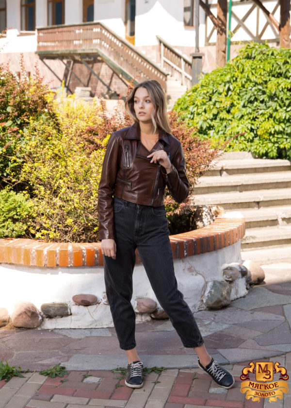 Кожаная куртка женская Dio Gomez 15434