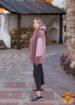 Шуба женская из экомеха керли REBBEKA QL-593