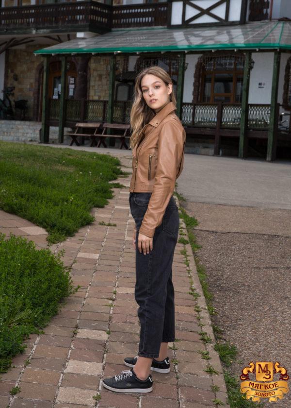 Куртка женская кожаная Dio Gomez 15669