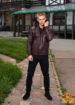 Кожаная куртка мужская GIO MELLI F683