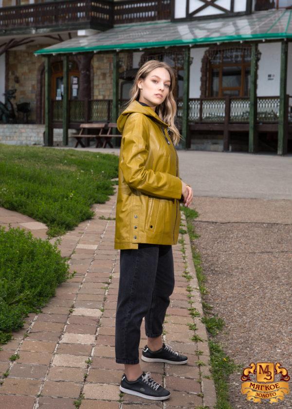 Кожаная куртка женская Pashamod 104