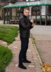 Кожаная куртка мужская GIO MELLI  F432