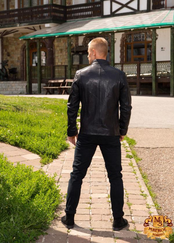 Кожаная куртка мужская GIO MELLI F479