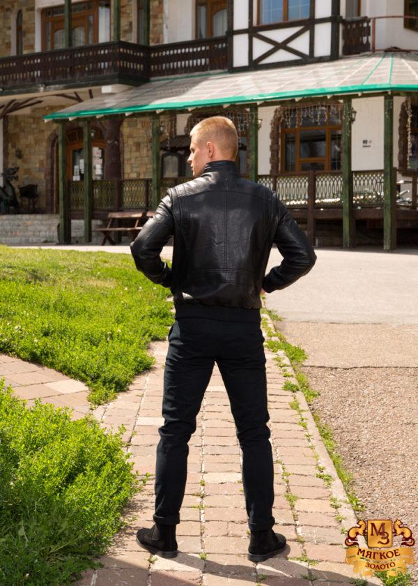 Кожаная куртка из эко-кожи 597