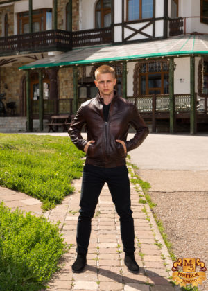 Куртка мужская из эко-кожи 1151