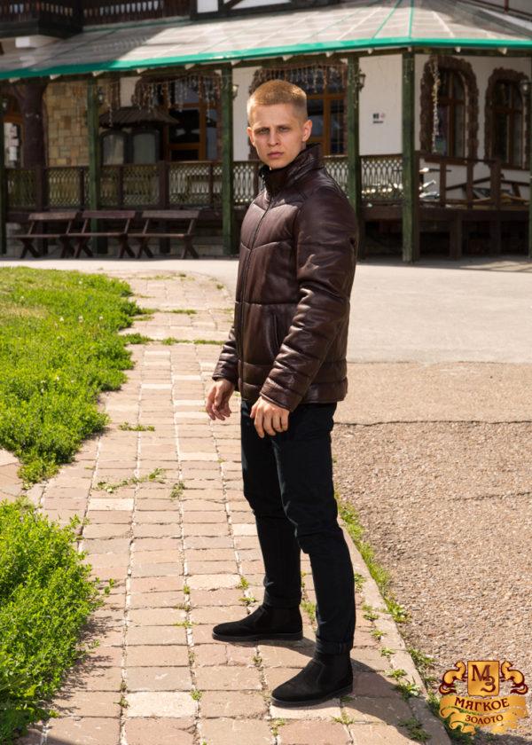 Кожаная куртка мужская Pashamod 1809