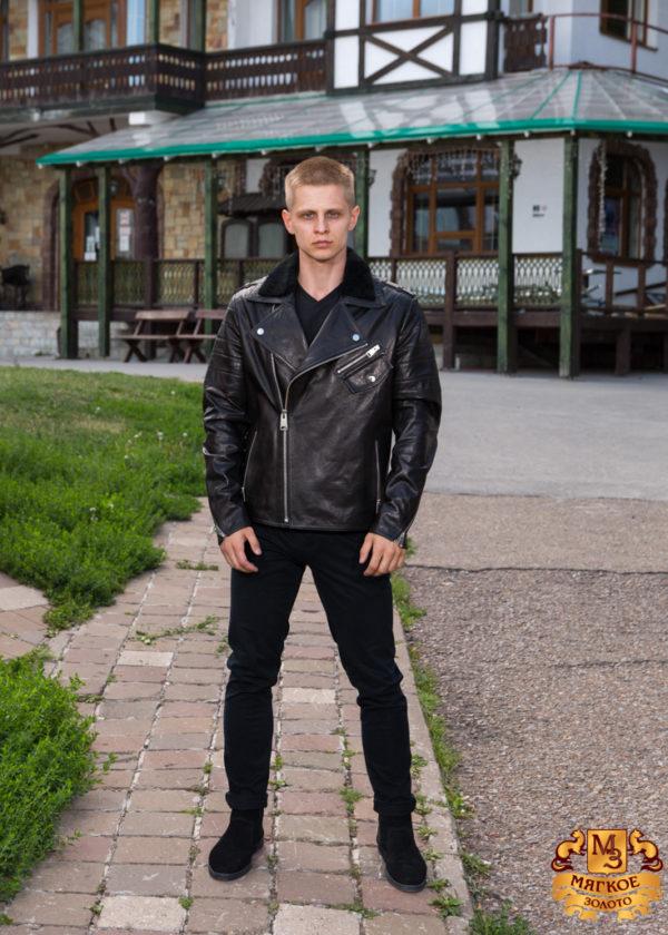 Кожаная куртка мужская Dio Gomez 2035