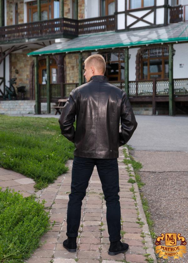 Куртка кожаная Steel 2875