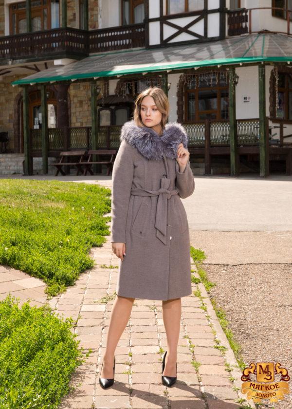 Пальто женское ElectraStyle НФЗУ-8044т-128