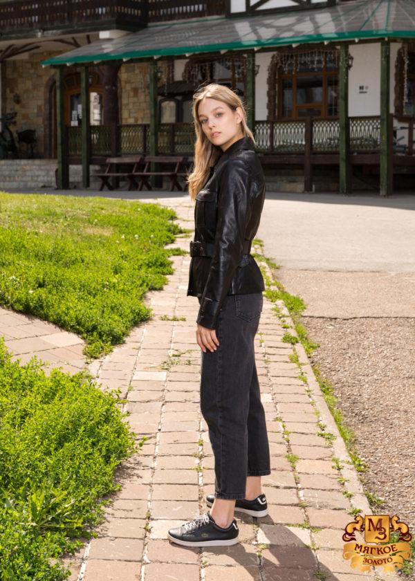 Кожаная куртка женская Dio Gomez 15714