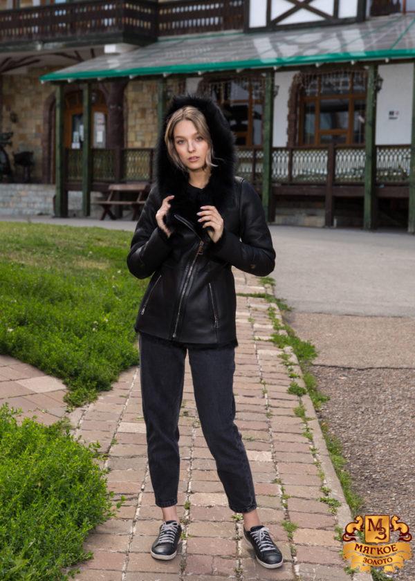 Дубленка женская Pashamod 7594