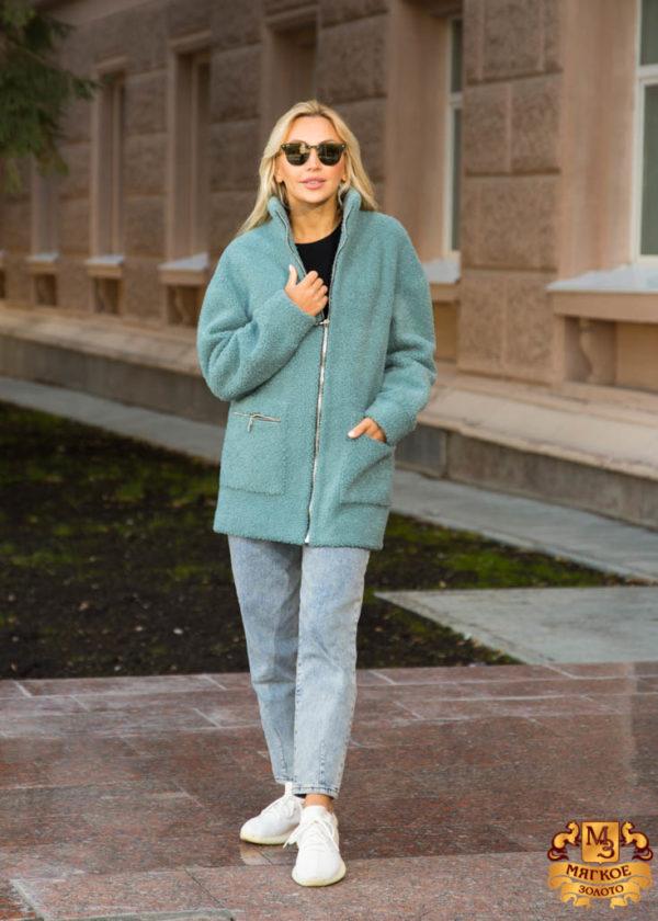 Шуба женская из экомеха GRV Premium Furs M-2113