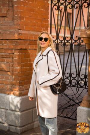 Шуба женская из шерсти GRV Premium Furs M-2110