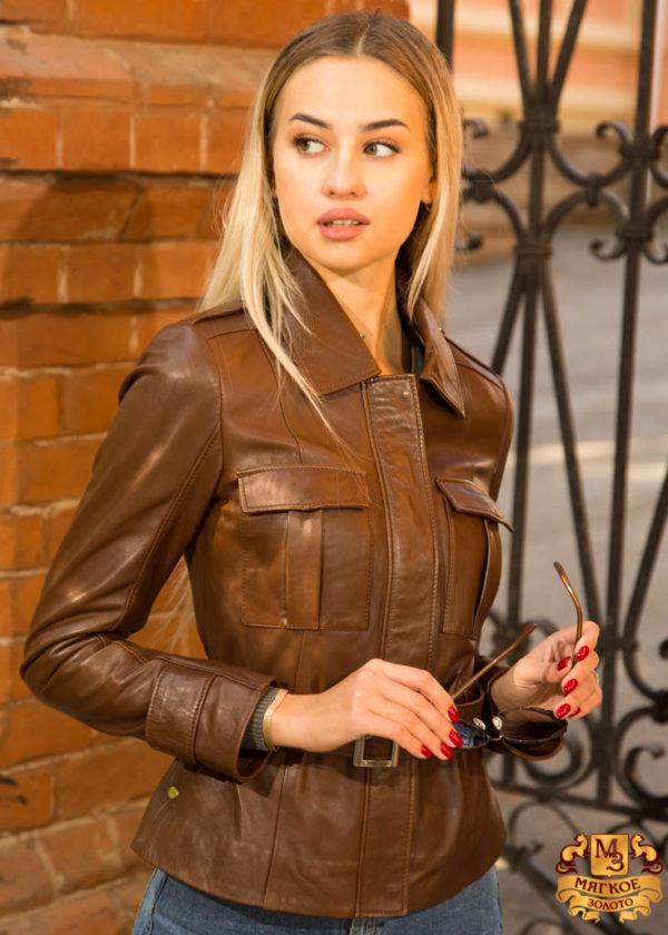 Женская кожаная куртка Dio Gomez 15714